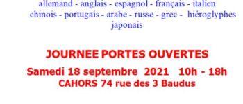 Les Polyglottes : Journée Portes Ouvertes Cahors