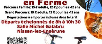 RANDO VTT GOURMANDE DE FERME EN FERME Nissan-lez-Enserune