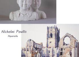 COIN D\ART FABIENNE LAHEURTE / NICHOLAS POULLIS Olonzac